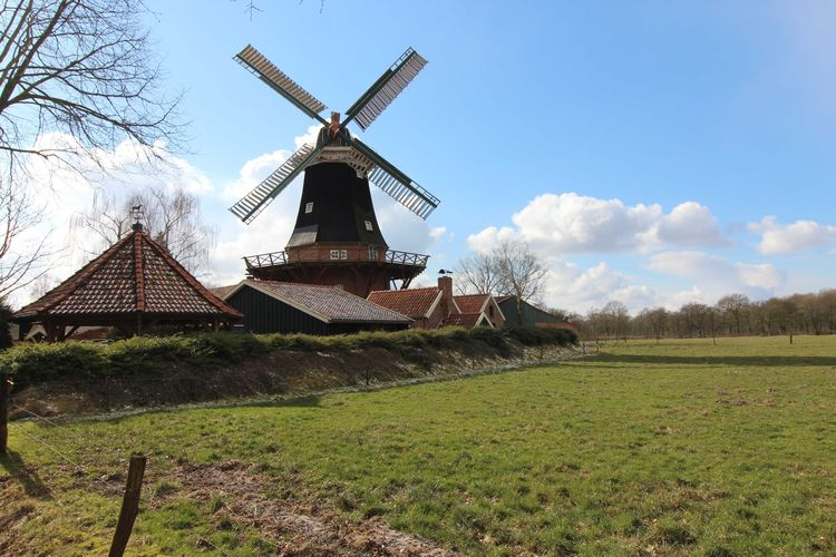 Mühle Rhaude, Ausflugsziel in Ostfriesland