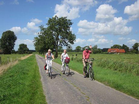 Radrouten in Ostfriesland ...