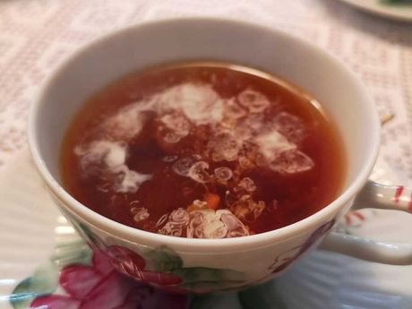Ostfriesische Teezeremonie ...