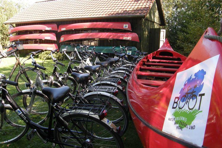 Paddel-und Pedal in Rhauderfehn Ostfriesland